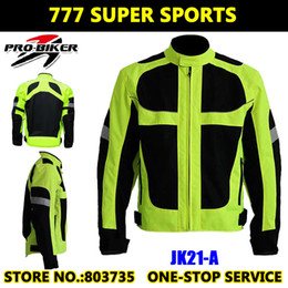Wholesale Reflective Motorcycle Jackets - Moto GP Champion Reflective Motorcycle Jacket Safety Cycling Team Jackets With Elbow&Shoulder Protective Pads