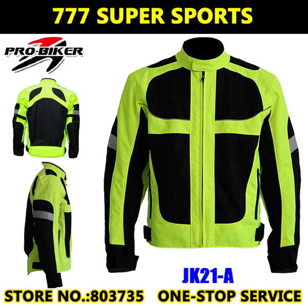 best selling Moto GP Champion Reflective Motorcycle Jacket Safety Cycling Team Jackets With Elbow&Shoulder Protective Pads