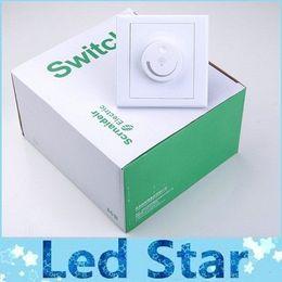 Venta al por mayor de Garantía 5 años Atenuador de LED Interruptor 220V / 300W 110V / 150W Brillo de oscuro a brillante Atenuadores del controlador Para luces LED ajustables