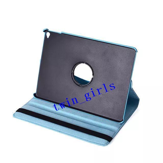 Hurtownie - dla iPad6 iPad 6 iPad powietrza 2 360 stopni obracający stojak magnetyczny pu skórzany obudowy