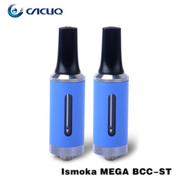 Wholesale e cigs vaporizer Authentic Eleaf bcc st mega bcc st electronic cigarette Vape Atomizer ml bcc clearomizer suit Eleaf Istick Mini