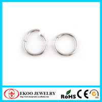 Wholesale Hinged Steel Ring - 316L Surgical Steel Hinged Segment Ring 1.2*8mm Lot of 10pcs Body Jewelry