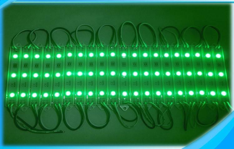 SMD5050 LED 5630 وحدة الضوء 3 الصمام للماء IP65 في الهواء الطلق 0.72W لقناة رسائل بريد إلكتروني DC12V علامة أضواء أحمر أخضر أزرق