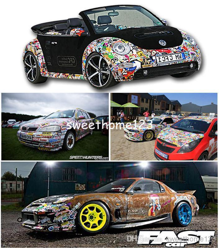DIY Graffiti Car Sticker Car Wrapping Auto Graphics Waterproof Car - Auto graphic stickersdiscount auto graphic decalsauto graphic decals on sale at