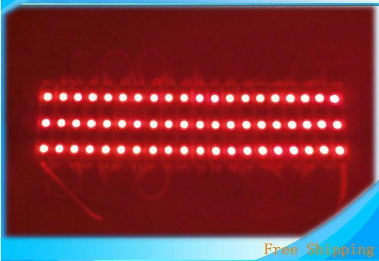 SMD5050 5630 LED Module Light 3 LED Waterproof IP65 Outdoor 0.72W For Channel Letters DC12V sign letter lights red blue green