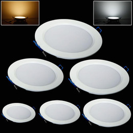 Wholesale Ultra Thin Led Downlights - Led Downlights Dimmable 7W 9W 12W 15W 18W 25W Led Recessed Ceiling Light Warm Cool White Ultra Thin Led Down Lights Indoor Lighting 85-265V