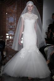 Wholesale Elie Saab Wedding Mermaid Dress - 2016 Wedding Dresses custom A-line mermaid court train strapless Elie Saab Dresses bridal A-Line wedding dresses
