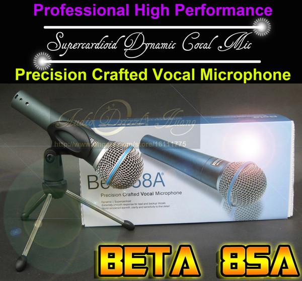 Металл Суперкардиоид динамический вокальный портативный проводной микрофон BETA58A микрофон для пения главная партия компьютер КТВ караоке с ярким чистым звуком