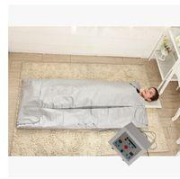 körper slim sauna hitze decke großhandel-FIR-Infrarot-Sauna-Decken-Gewichtsverlust-Körper, der Decken-Infrarotstrahl-Hitze abnimmt