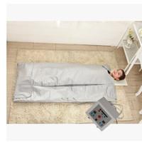 cobertor slim do calor da sauna do corpo venda por atacado-FIR infravermelho distante infravermelho do cobertor do emagrecimento do corpo da perda de peso da cobertura do calor do raio infravermelho