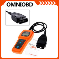 Wholesale Universal Diagnostic Codes Car - Universal Car Care U380 OBD II OBD2 Auto Car Diagnostic Scanner Code Reader Scan Tool USB Interface