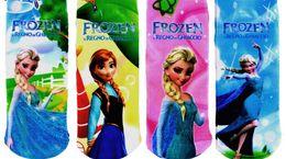 Wholesale Big Boys Socks - Sofia Princess Baby Girls Ankle Sock Kids Child Shorts Socks For Big Children Foot Wear Clothing Stocking 48Pairs Lot J1757