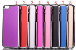 """Wholesale Metal Brushed Chrome Case - Metal Brushed Chrome Wiredrawing Electroplate Alloy hard case for iPhone 6 4.7"""""""