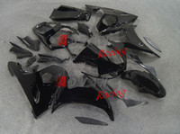 Wholesale Yamaha R6s Fairing Kits - All Black Injection Fairings Set kit Yamaha YZF-R6 2003-2005 R6S 2006-2009 62