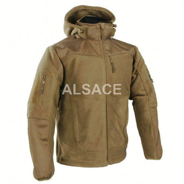 """top popular """"MISTRAL"""" 2.0 Heavy Fleece Jacket Outdoor Tactical Jacket Reinforced shoulders and elbows 2021"""