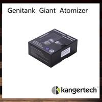 bobinas de bcc venda por atacado-KangerTech Genitank Gigante Atomizador Kanger Genitank Clearomizer Gigante Com 4.5 ml Atualizado Bobina Dupla E Novo Controlador De Fluxo De Ar BCC Tecnologia
