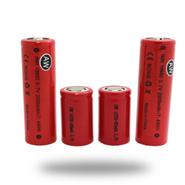 Wholesale Aw Free - AW IMR Imr 18350 18650 700mah 2000mah 10A Flat Top Battery For Mechanical Mods Dry Batteries Fedex Free Ship