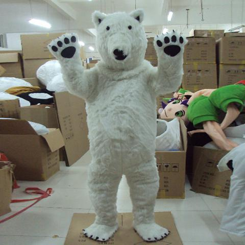 Polar bear clothing store