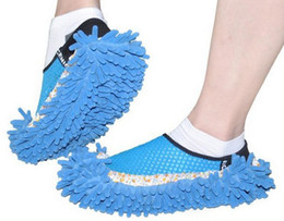 Wholesale Mop Cleaners - slippers for women home house unisex lazy slippers for men floor cleaning room sandals sneakers shoes slipper sandals