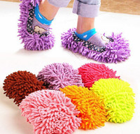 Wholesale New House Cleaning Mop - 2016 new 100 pairs slippers for women home house unisex lazy slippers for men floor cleaning room sandals sneakers shoes slipper sandals