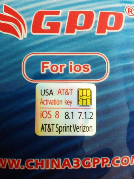 IOS 9.0.2 ;9.1; 9 iPhone 4S Genuine GPP F981 chip Sim Unlock iphone4s ios 8.2 Sprint Verizon T-mobile