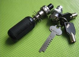 Wholesale Adjustable Manipulation Lock Pick - HAOSHI Multifunctional Adjustable Tubular Lock Pick Manipulation Pick - TPXA-7 Locksmith Tools Lock Opener Pick lock tools