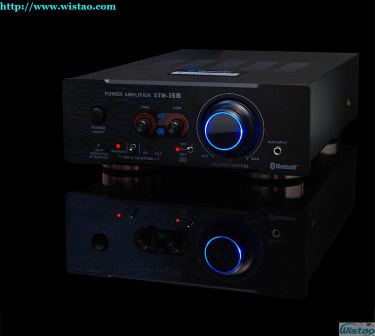 HIFI Bluetooth Music Amplifier NE5532 Preamp 2SA1941 and 2SC5198 Power  Stage Bluetooth 4 0 2X100W Transistor Amp Support APT-X 220V