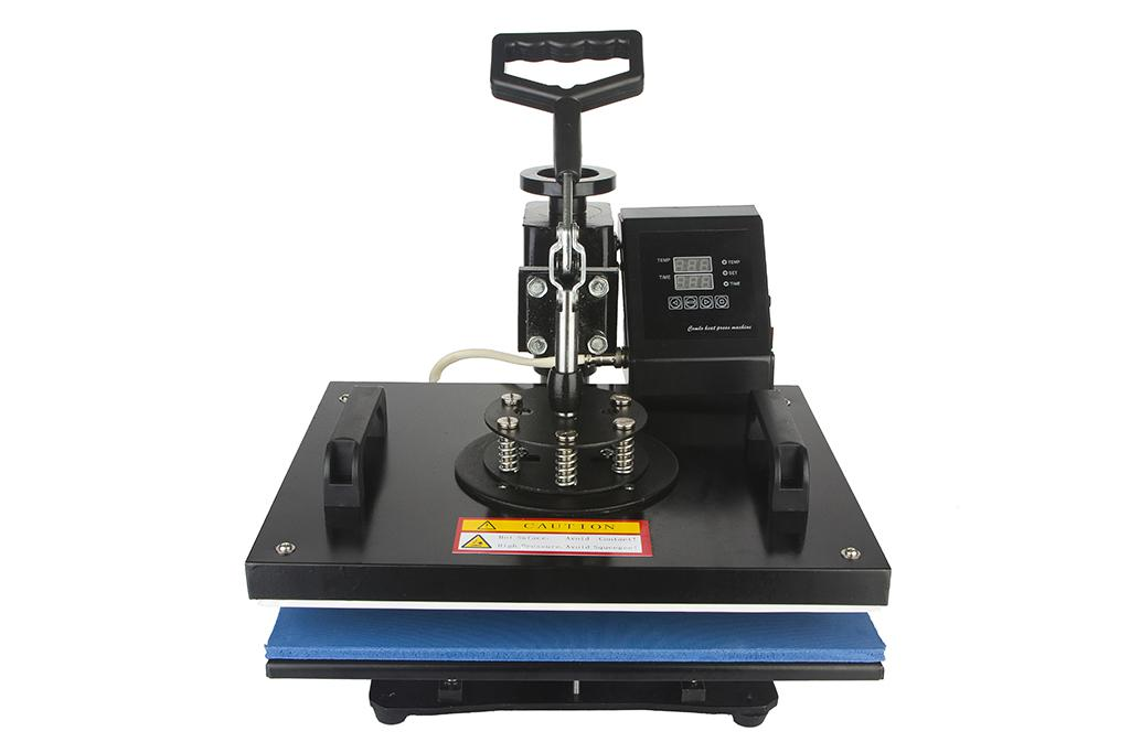 2014 cheap 6 IN 1 T shirt/Mug/Cap/Plate/Mouth Pad/Iphone Case Printer ,Sublimation Heat Press Machine & Heat Transfer Machine