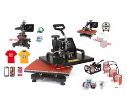 New Mug Press Machine Canada - Advanced NEW DESIGN 4,5,6,7,8,9 IN 1 Tshirt Mug Cap Plate Combo heat press machine,Heat press,Sublimation machine,Heat transfer machine