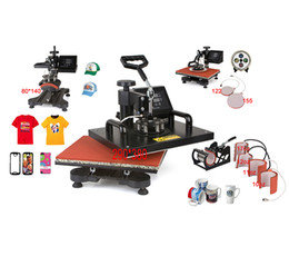 Wholesale Press Caps - Advanced NEW DESIGN 4,5,6,7,8,9 IN 1 Tshirt Mug Cap Plate Combo heat press machine,Heat press,Sublimation machine,Heat transfer machine