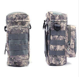 Wholesale Mess Bag - Molle Zipper Camo Water Bottle Utility Medic Pouch w Small Mess Pouch bag