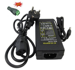 LED geçiş güç kaynağı girişi 110-240 V out koymak 12 V 4A 48 watt Led Şerit işık 5050 3528 trafo adaptörü aydınlatma AU İNGILTERE AB ABD plug nereden