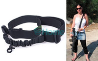 Wholesale Tactical Single Point Adjustable Bungee Rifle Gun Sling System Strap Portable dandys