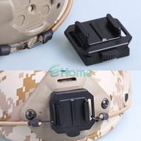Wholesale Gopro Hero Helmet - Aluminum NVG Helmet Mount Base Black For Gopro Camera HD Hero 2 3#55644, dandys