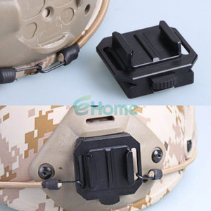 Wholesale Aluminum NVG Helmet Mount Base Black For Gopro Camera HD Hero dandys