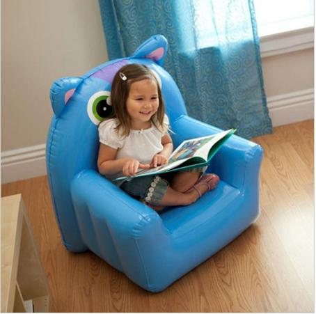 2019 Intex 68596 Cartoon Frog Owl Kids Toy Inflatable Sofa Chair Animal Children Furniture Living Room Folding Sofas Inflatable Chair From Benwish