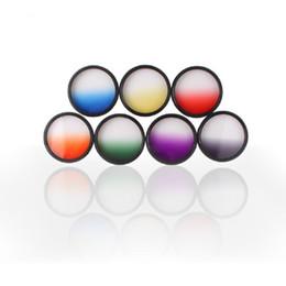 Wholesale 58mm Nd Filters - Hot Sale Optical Netural Grad Gradual ND-Grads Filter For Camera Lens 58mm 7 Colors#54800, dandys