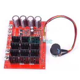 Venta al por mayor de Controlador RC 10-50V 60A DC Motor control de velocidad PWM HHO 12V 24V 48V 3000W caliente # 56217 , dandys