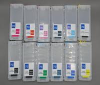 cartuchos recargables para hp al por mayor-Cartuchos de tinta recargables HP 70 (260 ml) a 12 colores con chips de reinicio automático para la impresora HP Designjet Z3100