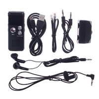 ingrosso micro recorder vocale gratuito-Vendita calda 8GB CL-R30 650Hr Dittafono Lettore MP3 Registratore vocale digitale Nero # 53813, dandys