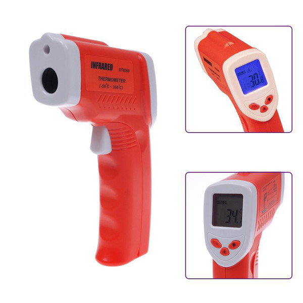 Hot Sale Non-Contact IR Infrared Thermometer Laser Digital Temperature Gun #18 #54444, dandys