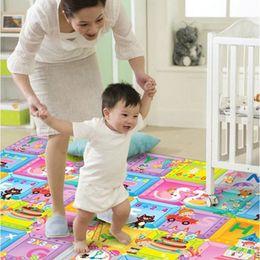 Wholesale Crawling Foam Mat - Hot Baby Kid Toddler Crawl Mat Play Carpet Playmat Playing Foam Blanket Alphabet#53287, dandys