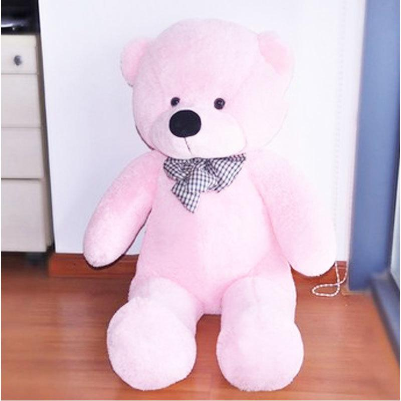 Superb 2018 Hot Sale 100cm Cute Teddy Bear Pink Giant Big Cute Plush 100% Cotton  Huge Soft Toy Gift#53446, Dandys From Dandys, $30.05 | Dhgate.Com
