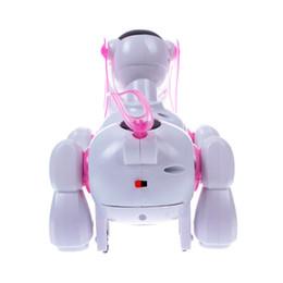 Wholesale Dog Walking Light - Hot Sale Cool Robotic Cute Electronic Walking Pet Dog Puppy Cute Kid Toy Gift Music Light#55826, dandys