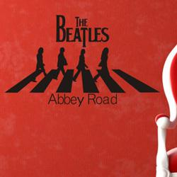 Wholesale Wall Decals Roads - Wholesale-vintage decors the beatles Abbey Road music wall decals stickers on the wallpaper sticker home decoration cheap wall stickers