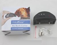 ingrosso collari di formazione per cani di qualità-Collare di corteccia di antiaderente automatica per cani Prodotti per animali domestici di buona qualità PET-852