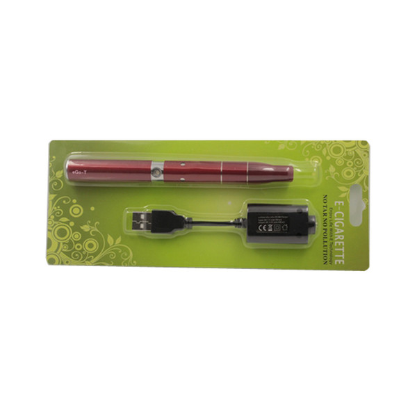 EGO T Ago G5 Starterkit Ecig Colorful Trocken Kraut Vaporizer Stift Ago G5 Zerstäuber Ego T Batterie 650mAh 900mAh Elektronische Zigarette Kit KZ009