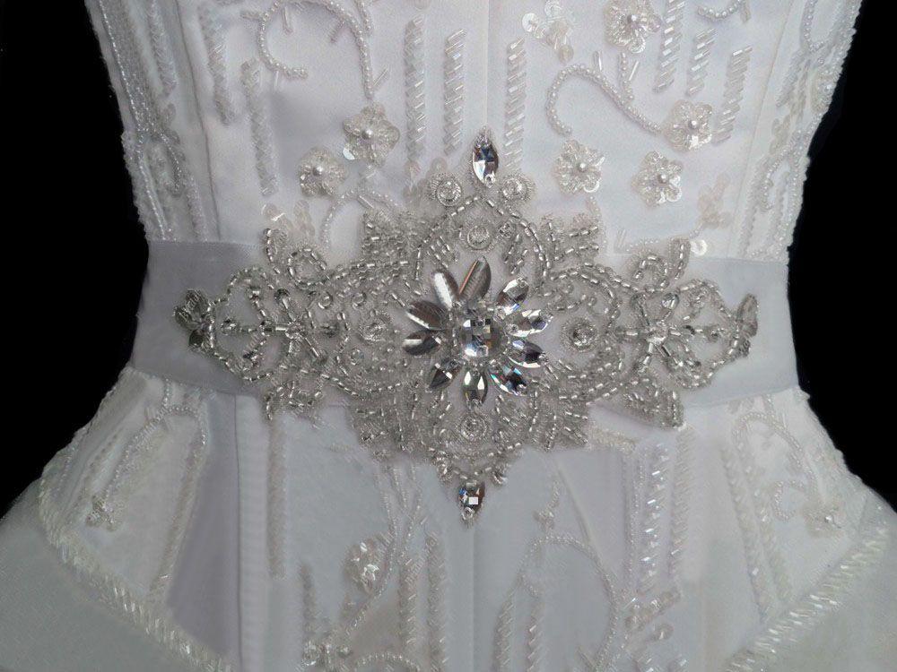 Darmowa dostawa! 2019 Tanie Błyszczące Kryształy Koraliki Bridal Sashes Paski ślubne Paski Bridal Wedding Belts Akcesoria Bridal