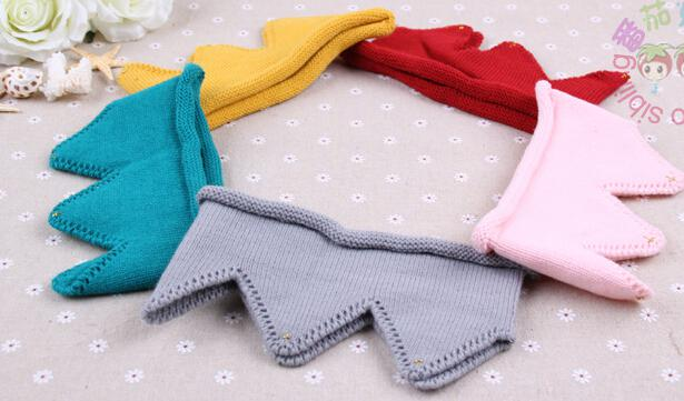 Baby Knit Crown Tiara Kids Infant Crochet Headband cap hat birthday party Photography props Beanie Bonnet hair jeweley