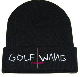 Wholesale Skull Caps Online - Free ship 2017 New beanies online casual Hip-Hop Unisex GOLF WANG Beanies Wen's Women's Winter knit Cotton wool Hats Snapback caps 1pcs lot